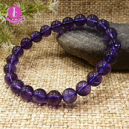 天然紫水晶手珠(隨機出貨)