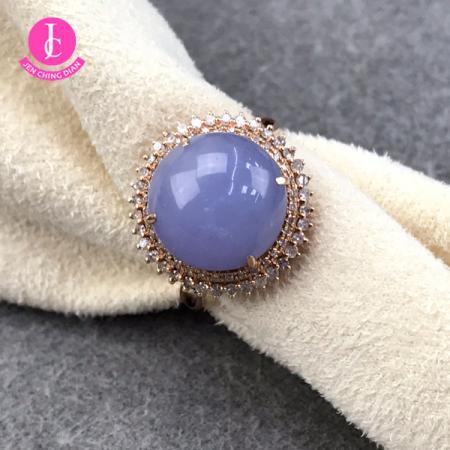 紫意情迷星耀太陽戒